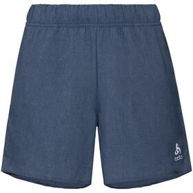 Odlo Millennium Spodnie krótkie Kobiety, blue indigo melange